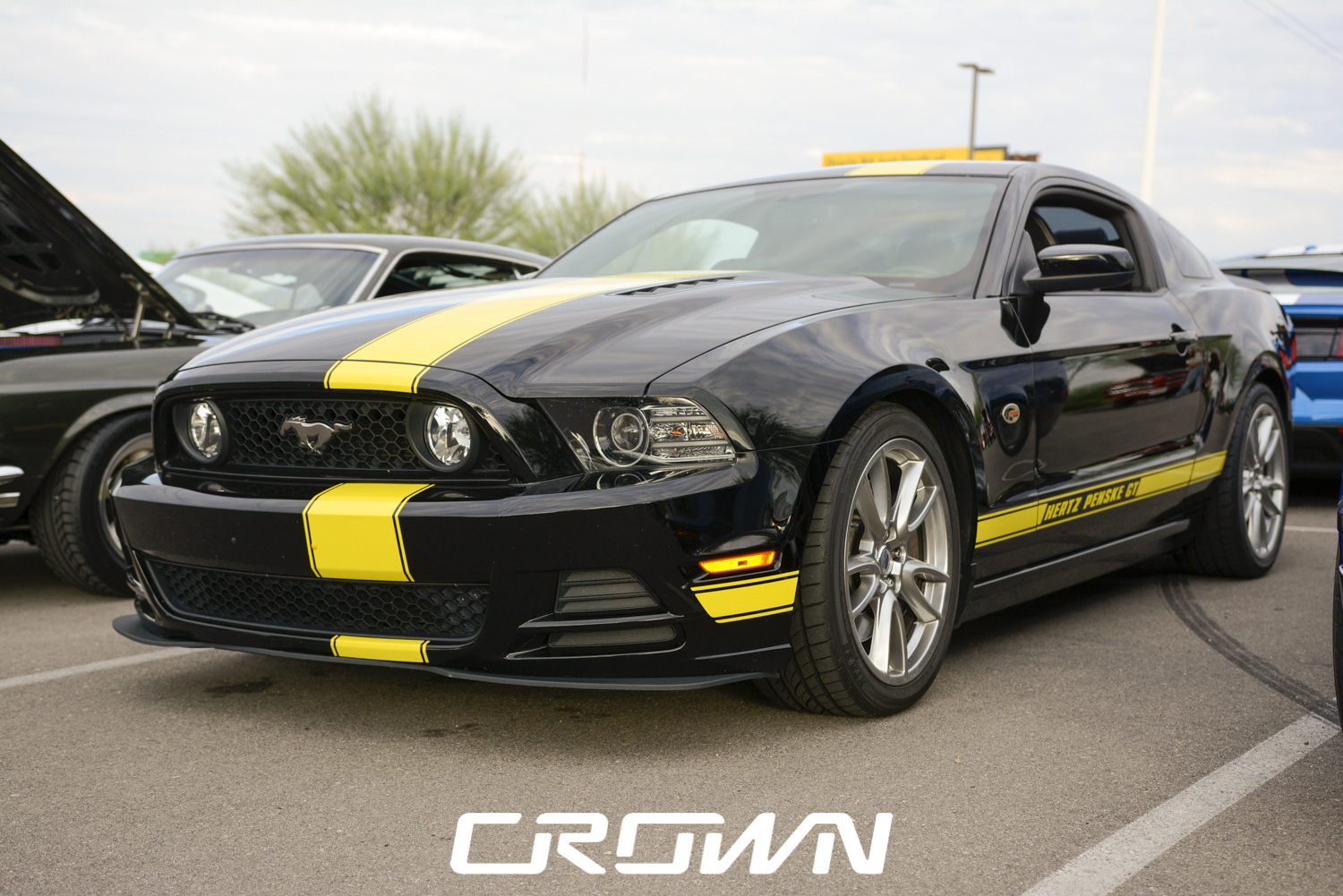 Hertz Ford Mustang GT-H at TopGolf Tucson