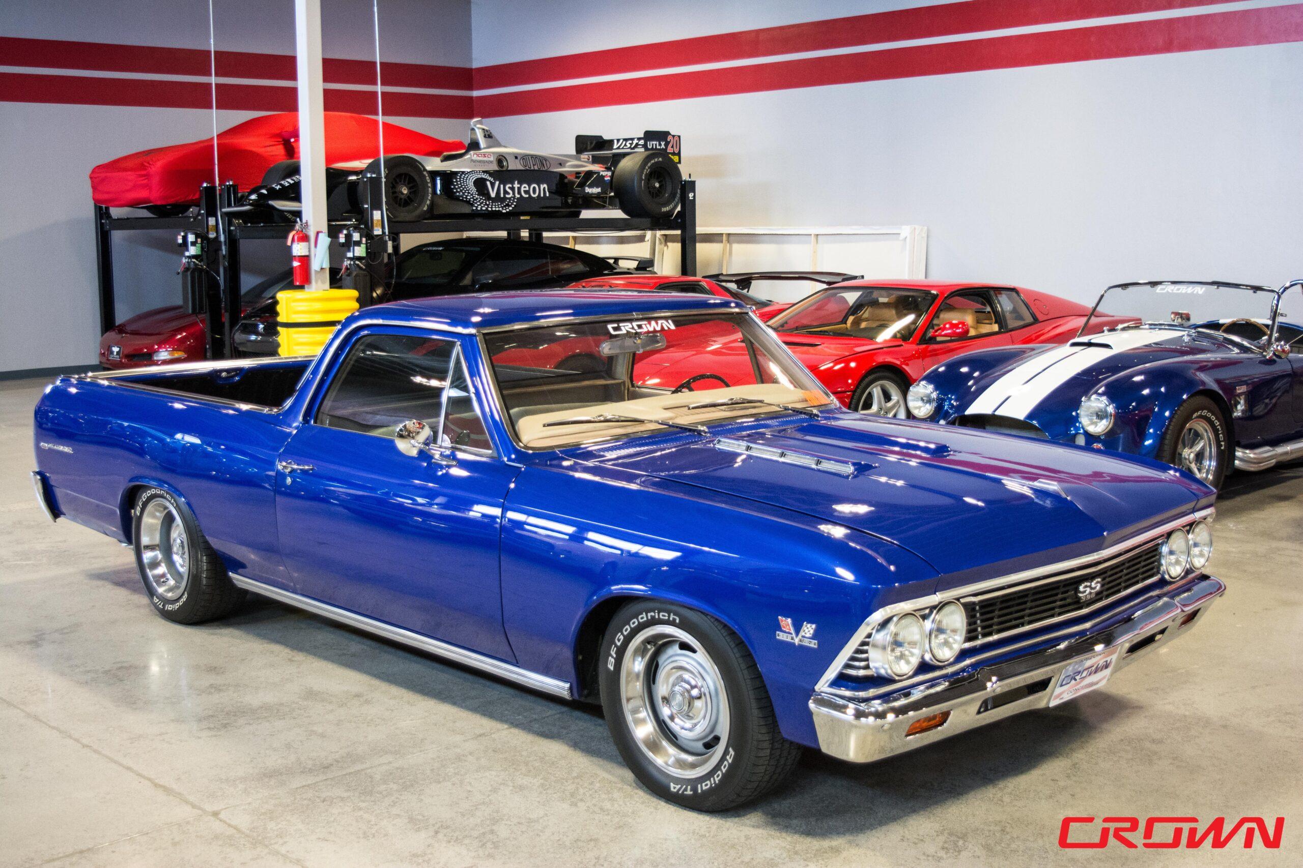 1966 Chevrolet El Camino Blue Crown Concepts