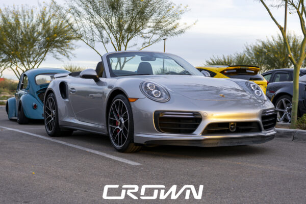 Porsche 911 Turbo at Cars and Coffee and Clubs in Tucson