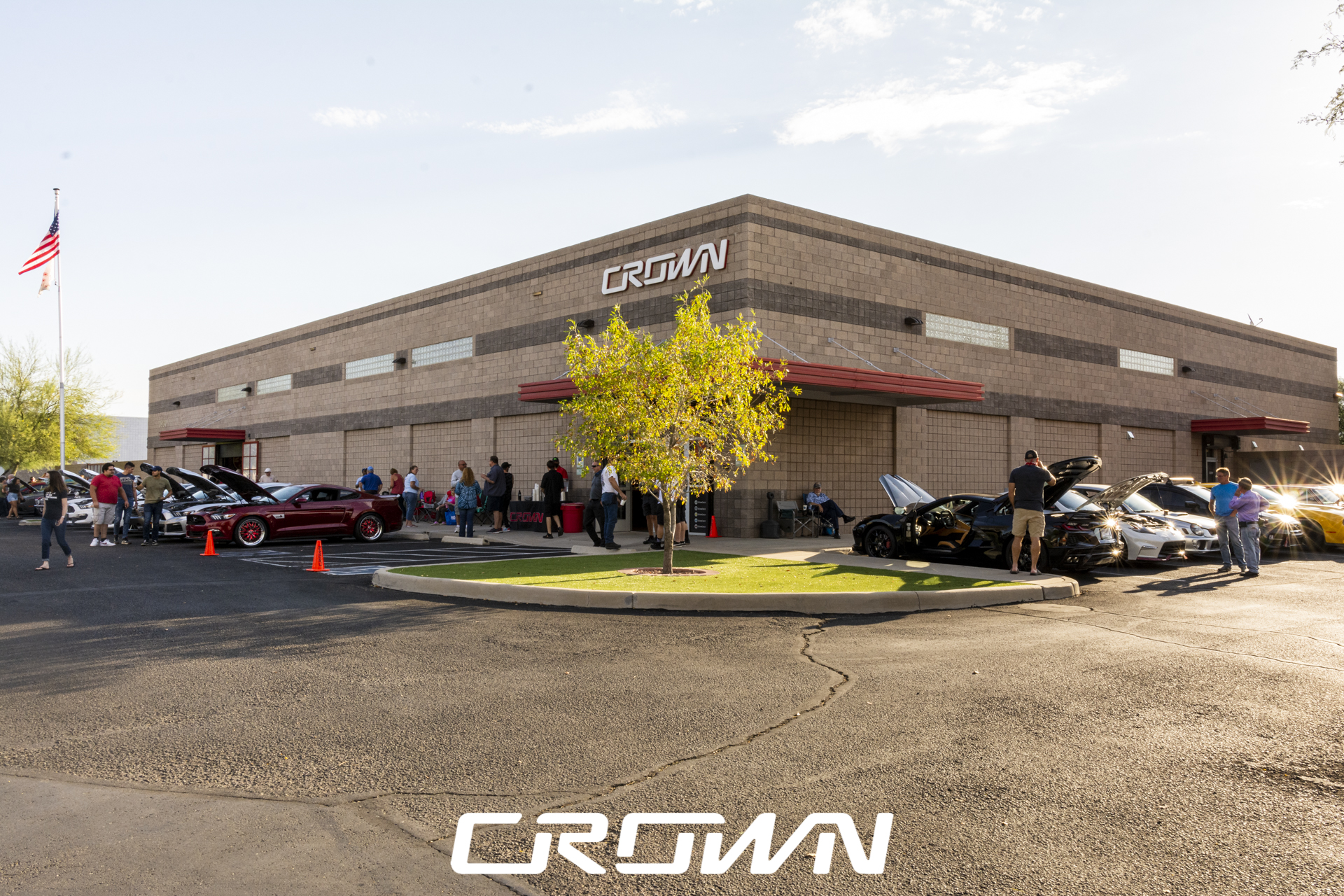 Crown 'Cars and Coffee'