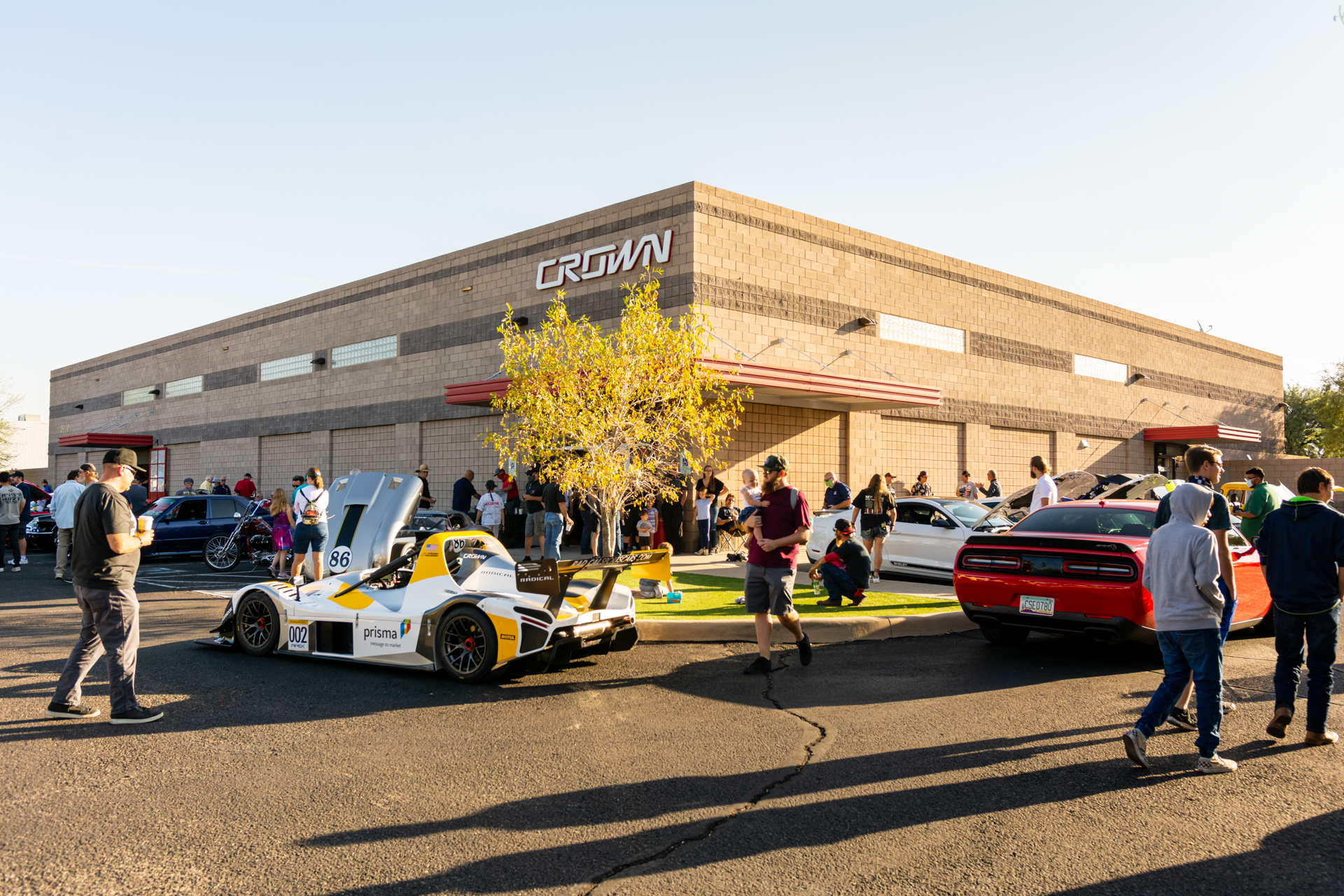 Crown 'Cars and Coffee' October