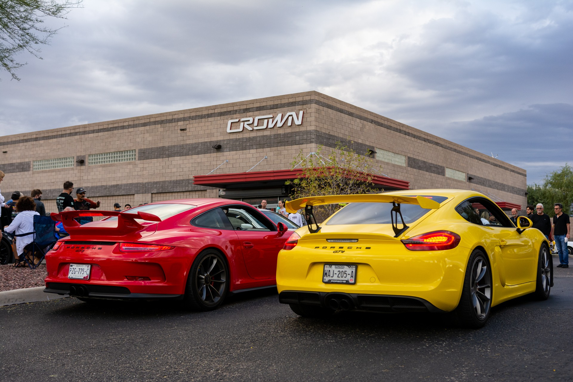Crown Cars and Coffee November